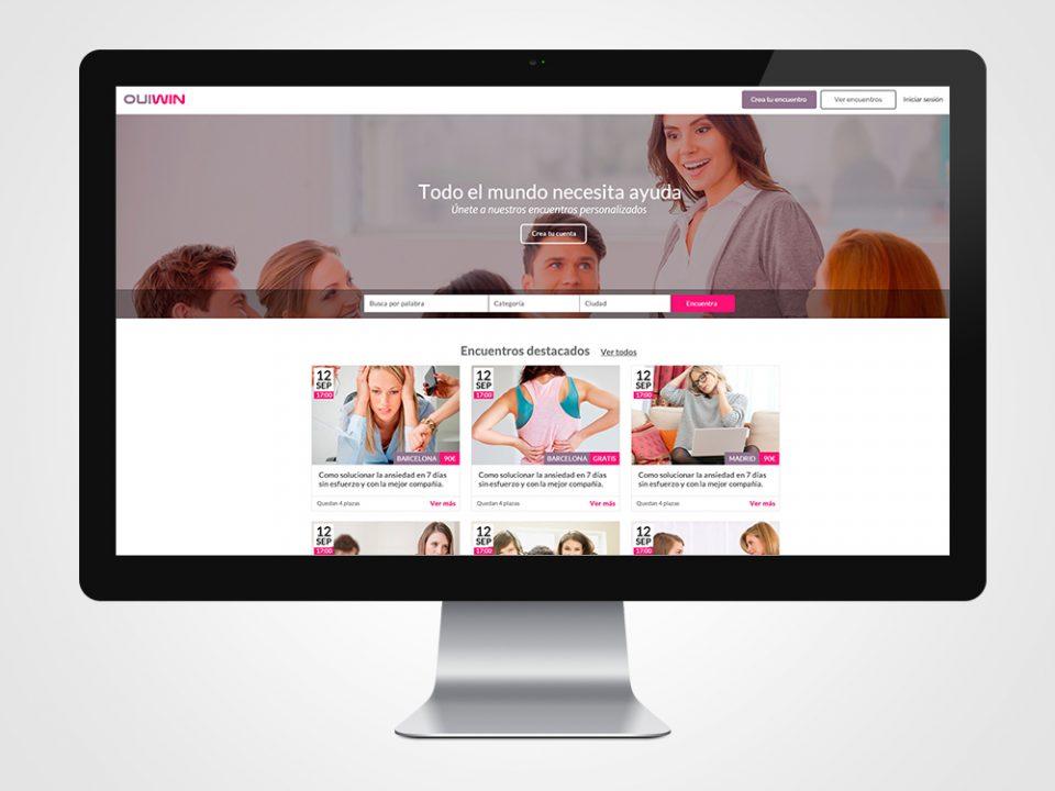 Proyecto de desarrollo web de Ouiwin